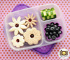 In this lunch box: What a pretty May Flower idea for lunch!  From Jill of Meet the Dubiens: http://bit.ly/13XbUfl