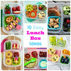 10 easy lunch box ideas: Happy Home Fairy rounded up some delicious meals. ► http://bit.ly/1eJOv7a