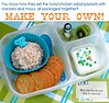 Why pay for packaging when you don't have to? Great lunch box idea from Shannon of What's for Lunch at Our House? Make your own tuna or chicken salad packets. DETAILS ► http://bit.ly/15BpzeS