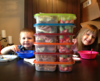 "Lunchbox Dad Beau Coffron has lunches packed and ready to go for a big family outing. More about Beau here ► <a href=""http://bit.ly/18OhcQa"">http://bit.ly/18OhcQa</a>"
