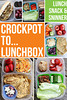 "TIMESAVER! Make easy meals in the Crock-pot AND have leftovers to pack up for tomorrow's lunch. Lunch boxes meals they'll love. GREAT ideas and recipes from Tracie of Lunch, Snack and ""Sninner"" HERE ► http://bit.ly/17Za5PS PIN for later ► http://bit.ly/17ZaFx0"