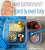 A new baby in the house = new ideas for lunches!  This one from Eats Amazing DETAILS >> http://bit.ly/14gN6TW