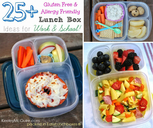 Lunch box ideas that are allergy-friendly gluten-free