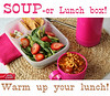 "Soup and salad lunch ideas. Warm up your lunch box! ""Rich & Hearty Tomato Florentine with Andouille Sausage pairs perfectly with this Spinach-Strawberry Salad. To add a little crunch throw in some Green Giant Veggie Chips and a handful of almonds and raisins."" MORE from Betty Crocker ► <a href=""http://bit.ly/1cA5qZp"">http://bit.ly/1cA5qZp</a>"